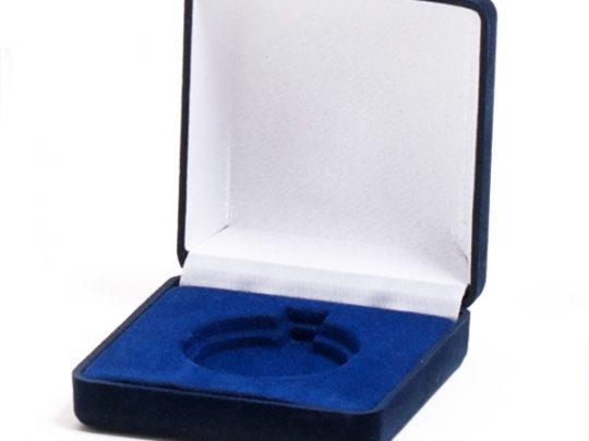 Cutie pentru medalie D18 culoarea albastra