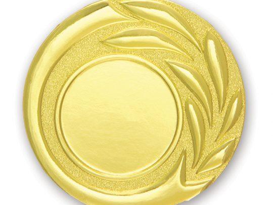 Medalia E515 versiunea aurie