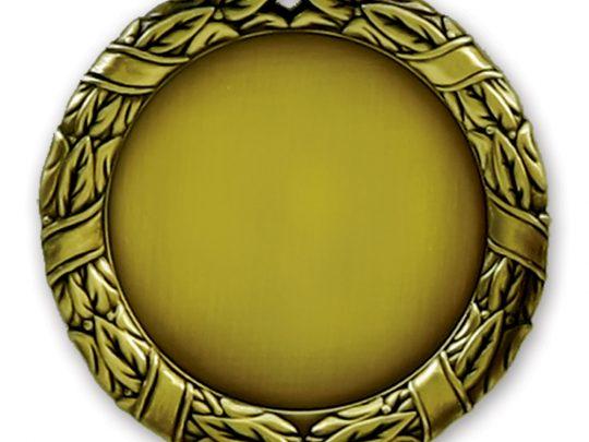 Medalia E715 in versiunea aurie