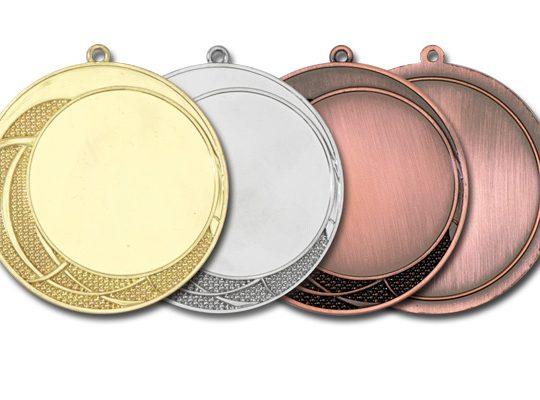 Medalia E774 in versiunile aur, argint, bronz