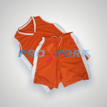 Compleu PRO-baschet portocaliu cu alb