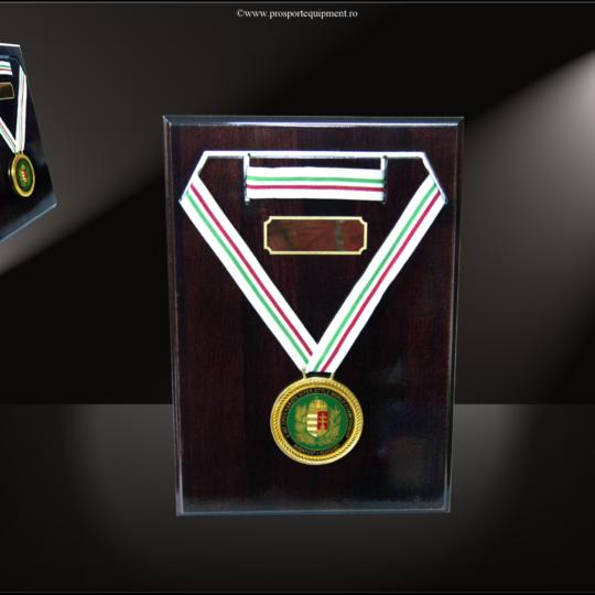 Placheta suport medalie MS1 cu medalie