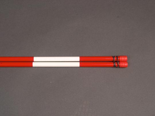 Antene pentru fileu volei rosu cu alb