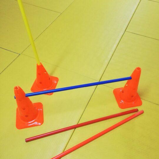 baston pentru jaloane dispuse in jaloane
