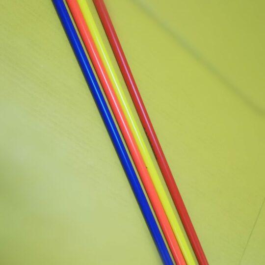 baston pentru jaloane diverse culori