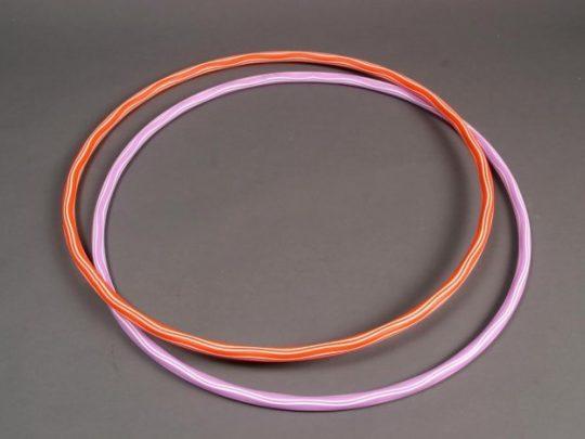 Cerc de gimnastica in 2 vesiuni de culoare