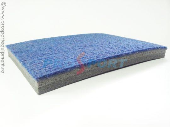 covor pentru gimnastica albastru, sectiune