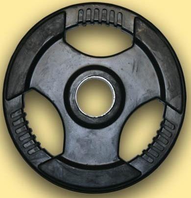 Disc haltere cauciucat, 51mm