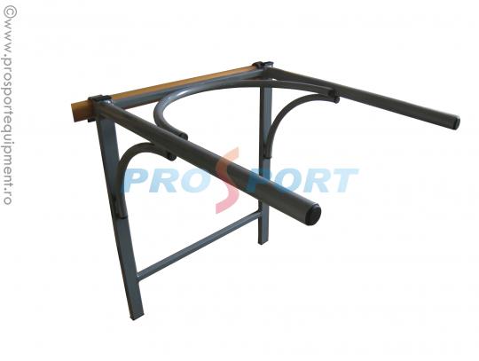 Bara pentru flotari produsa de PROSPORT ce poate fi montata pe spalier sau pe perete