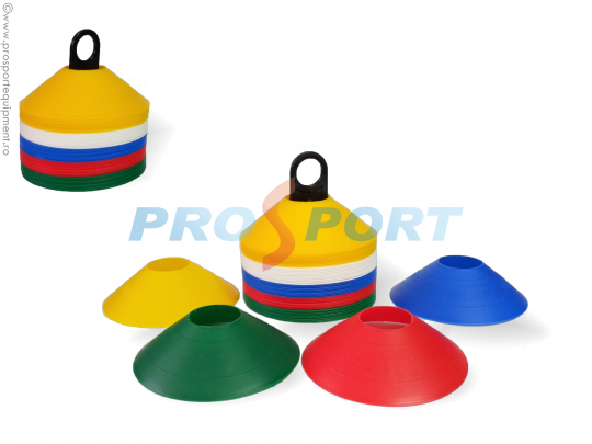 aloane disc setul din plastic flexibil cu jaloane de diverse culori