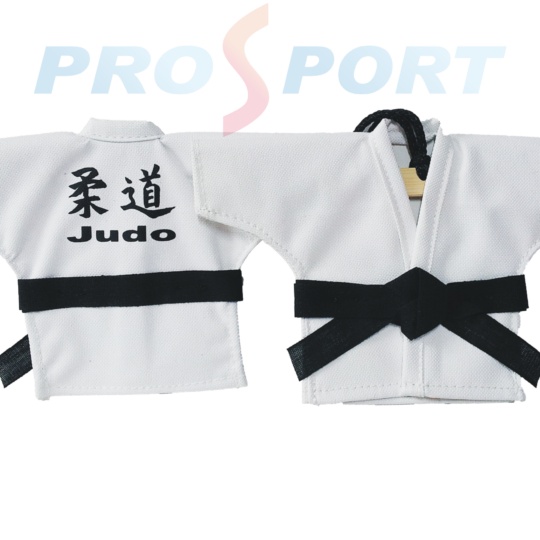 Kimono decorativ personalizat, prezentat fata si verso