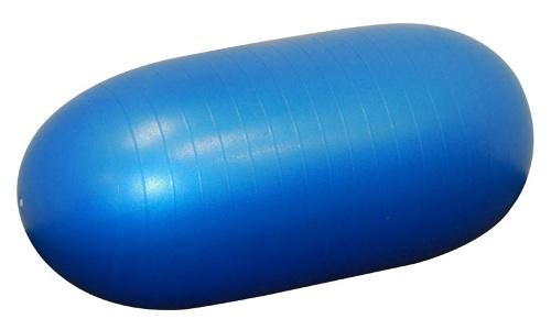 Minge pentru fitness si terapie ovala albastra
