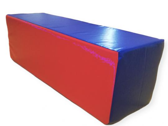 paralilipiped multifunctional albastru cu rosu