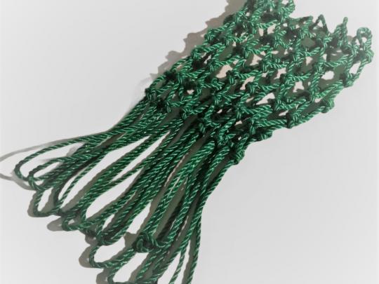 plasa baschet pentru exterior culoarea verde