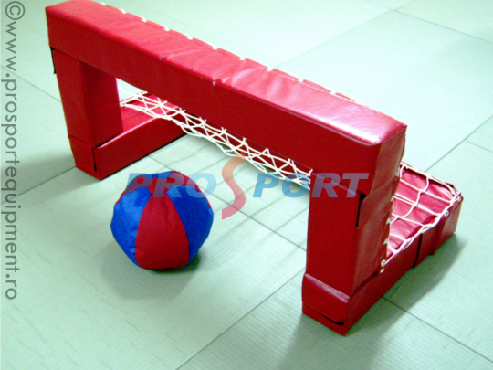 Poarta fotbal pentru copii cu minge