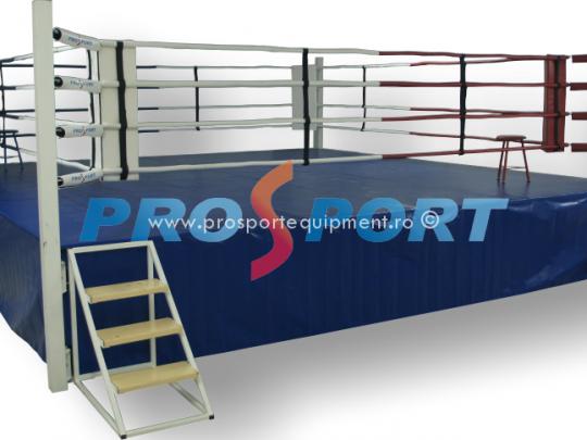 Ring de box competitional prelata albastra