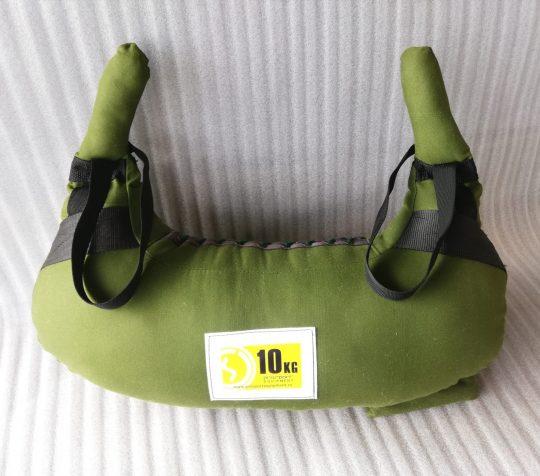 sac pentru lupte 10 kg verde