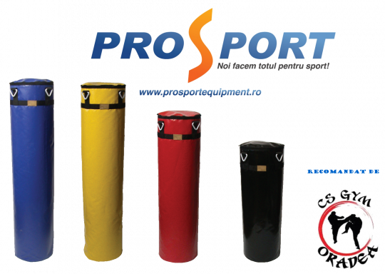 Saci box Pro-Performance albastru, galben, rosu si negru