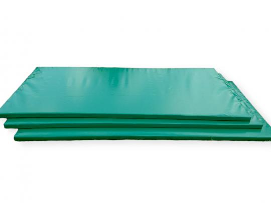 Saltele judo cu husa verde