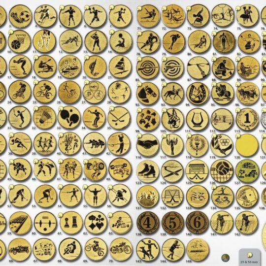 Simbol metalic lista completa