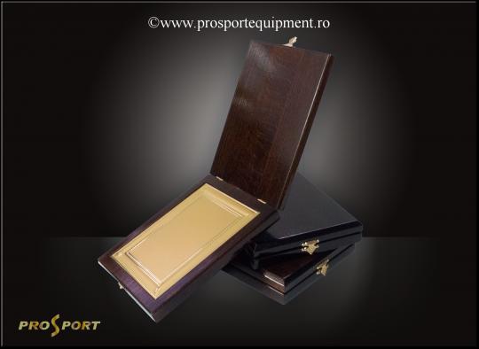 Cutia-placheta CT1 deschisa, cu placa personalizabila