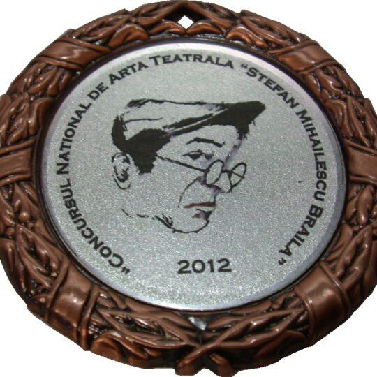 personalizare medalii un model aplicat pe medalie