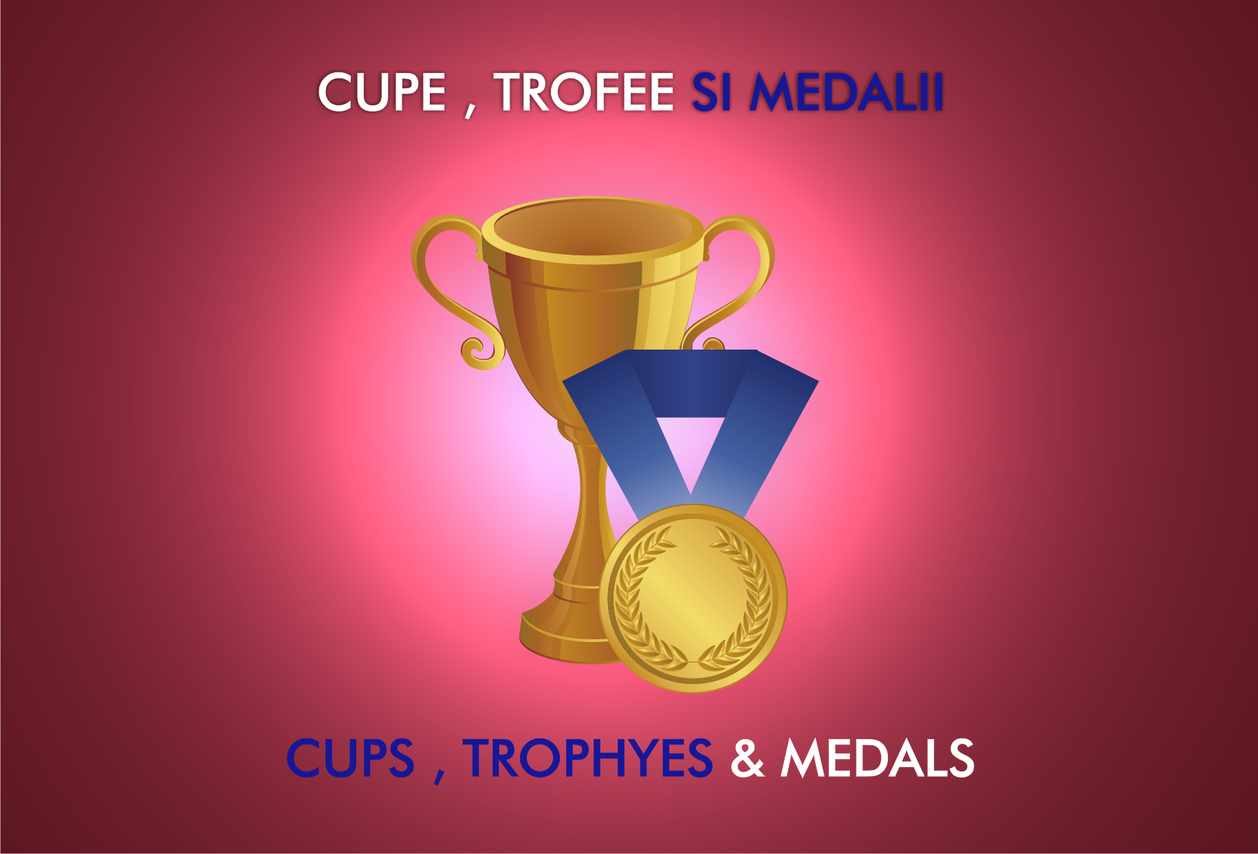 Cupe, Trofee si Medalii