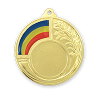 Medalia E521R versiunea aurie