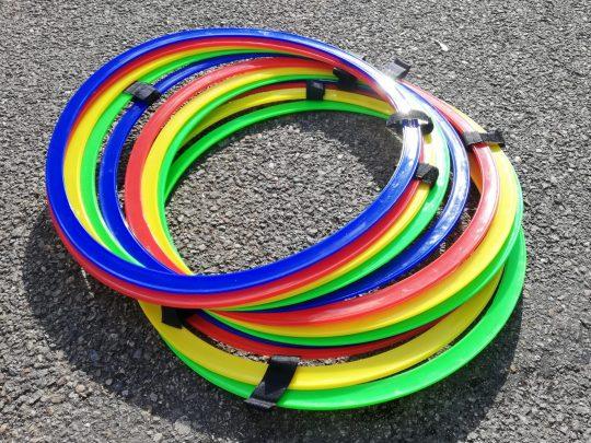 cercuri plate diverse culori