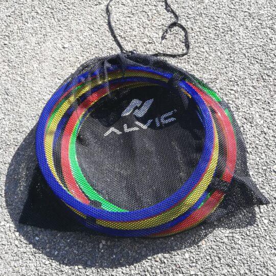 cercuri plate in sacul de transport