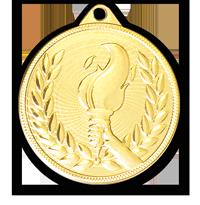 Medalia E579 versiunea aurie