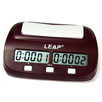 cronometru digital pentru sah carcasa neagra