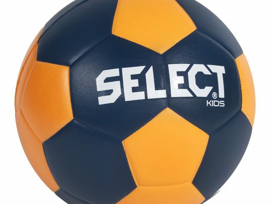 minge handbal SELECT din burete portocaliu cu albastru
