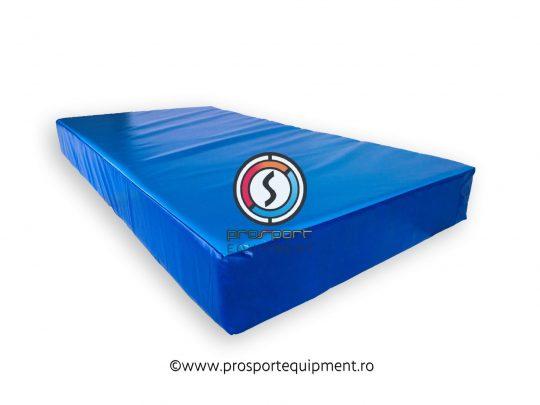 saltea gimnastica husa Pvc albastra