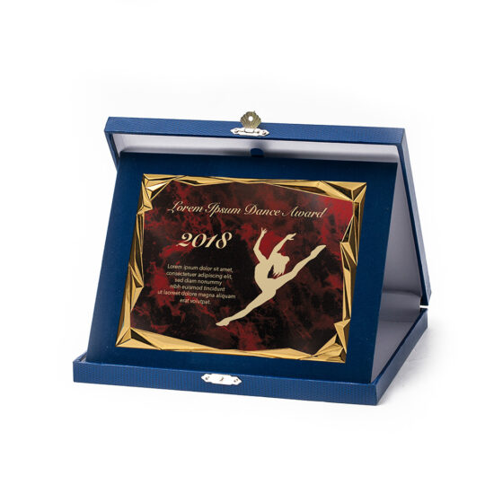 Cutia-placheta dp01 cu placa personalizata
