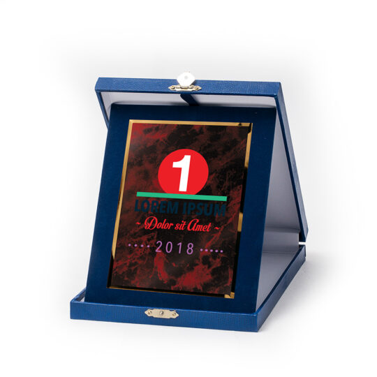 Cutia-placheta dp04 cu placa personalizata