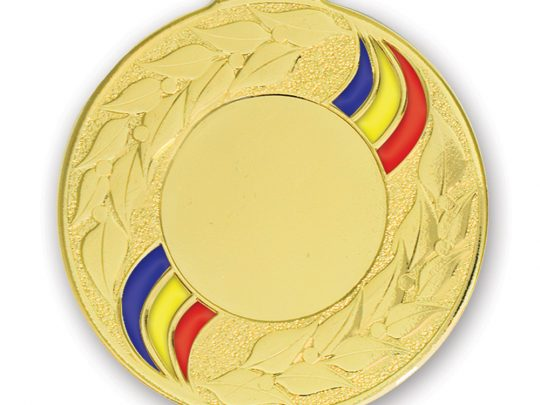 Medalia E522RO versiunea aurie