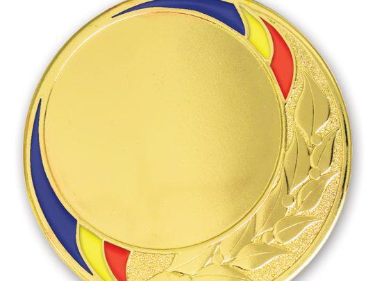 Medalia E722RO in versiunea aurie
