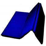 saltea gimnastica pliabila husa PTP albastra