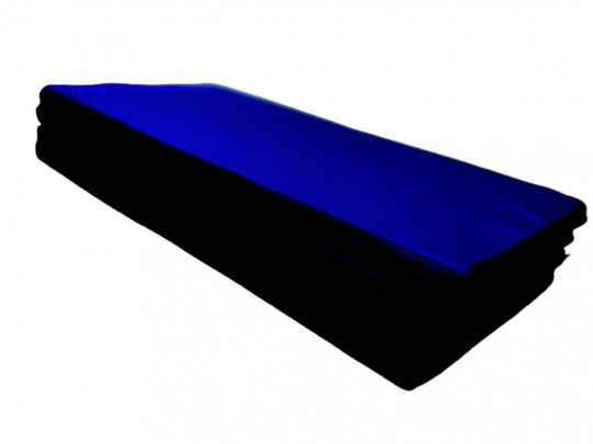 saltea gimnastica pliabila husa PTP albastra, pliata