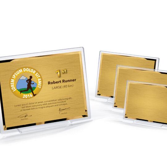 Placheta acrilica AC901 cu placa personalizata