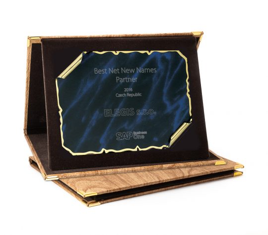 Cutia-placheta dp94 cu placa personalizata
