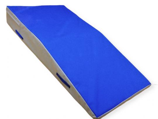 Saltea proiectari multifunctionala albastru cu gri