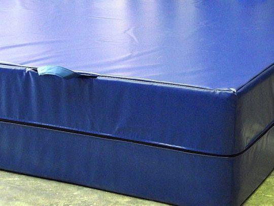 husa suprafata aterizare PVC albastra