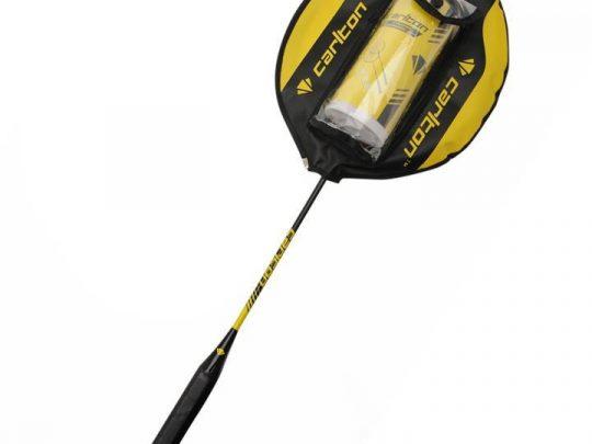 racheta badminton Carlton cu husa si cutie de fluturasi