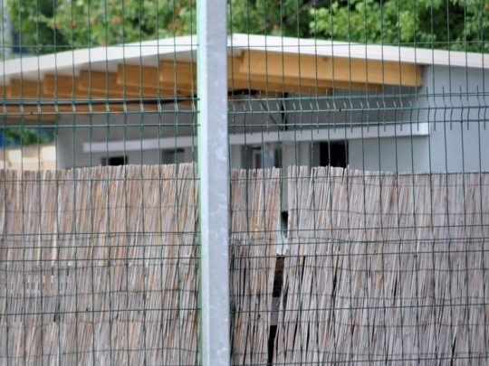 Consola de streetball betonabila montata afara