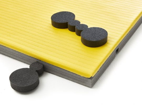 saltea judo trocellen I-TIS training detaliu sistem de prindere