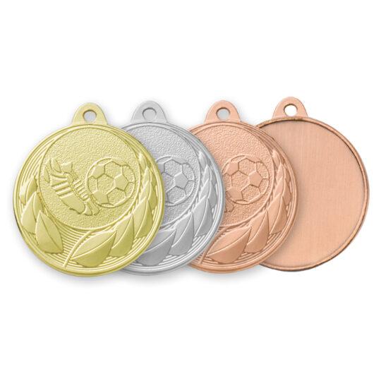 Medalia E202 in versiunile aur, argint, bronz