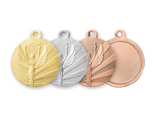 Medalia E309 in versiunile aur, argint, bronz