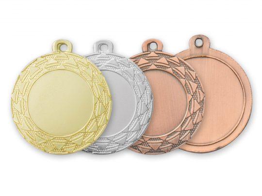 Medalia E404 versiunile aurie, argintie si bronz